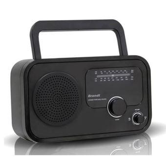 Rádio Brand 120 A Preto
