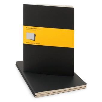 Moleskine: Caderno Quadriculado XL Preto