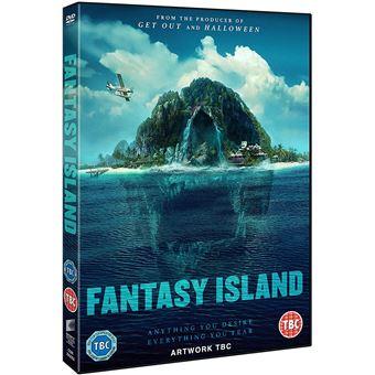 A Ilha da Fantasia - DVD