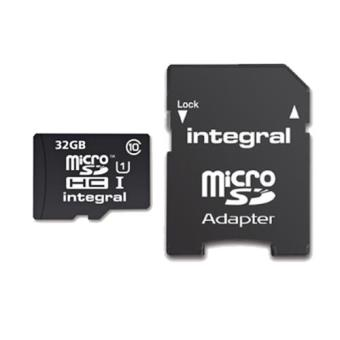 Integral Cartão microSD UltimaPro X 32GB 90MB/s Class 10 UHS-1