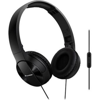Pioneer Auscultadores c/Microfone SE-MJ503T (Preto)