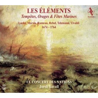 Les Éléments | Tempêtes, Orages et Fêtes Marines (2SACD)