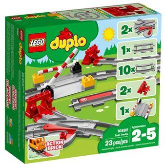 LEGO DUPLO Town 10882 Carris para Comboio