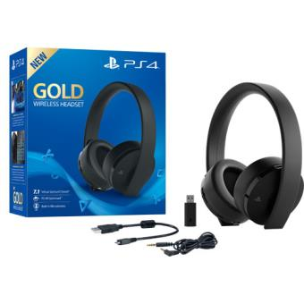 Headset Wireless Gold PS4