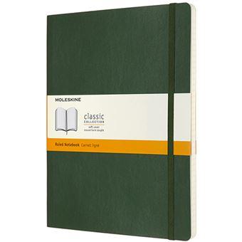Caderno Pautado Moleskine Soft XL - Verde Myrtle