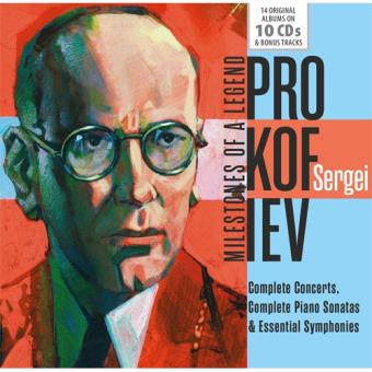 Prokofiev: Milestones of a Legend - 10CD