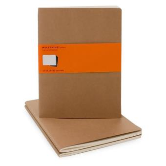 Moleskine: Caderno Pautado XL Bege
