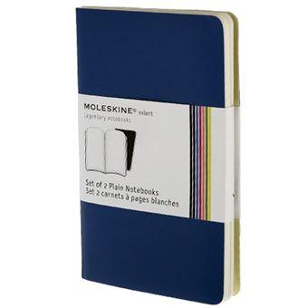 Caderno Liso Moleskine Volant Bolso Azul Escuro - 2 Unidades