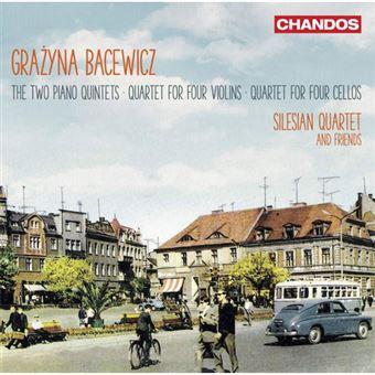 Grażyna Bacewicz: Two Piano Quintets, Quartet for Four Violins & Quartet for Four Cellos - CD