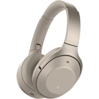 Auscultadores Bluetooth Sony WH-1000XM2 - Dourado