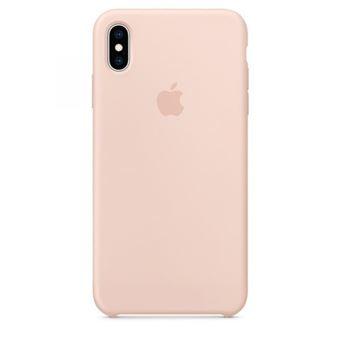 Capa Silicone Apple para iPhone XS Max - Rosa Areia