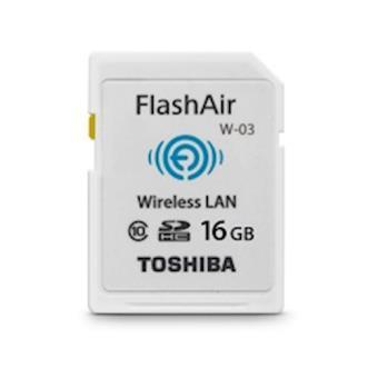 Toshiba FlashAir W-03 16GB SD Class 10 cartão de memória