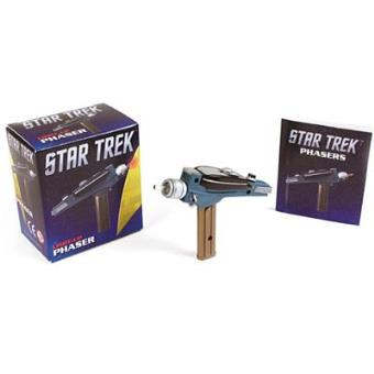 Mini Kit Star Trek: Light Up Phaser + Book