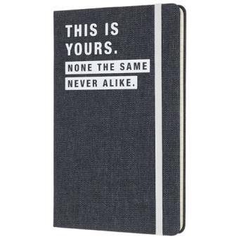 Caderno Pautado Moleskine Denim - This is Yours Grande