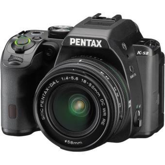 Pentax K-S2 + PENTAX DA 18-50mm f/4-5.6 DC WR RE (Preto)