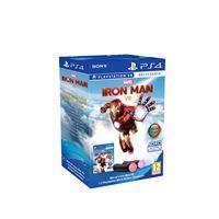 Pack Marvel's Iron Man VR + Comandos de movimento PlayStation Move - PS4