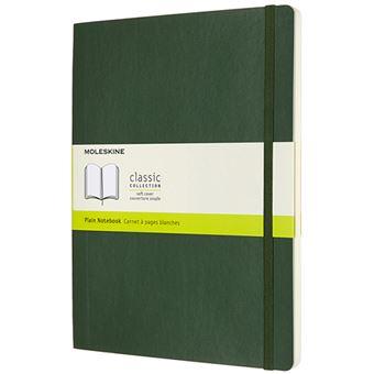 Caderno Liso Moleskine Soft XL - Verde Myrtle