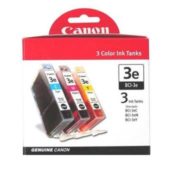 Canon Multi-Pack Tinteiros BCI3E Ciano/Magenta/Amarelo