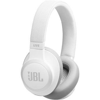Auscultadores Bluetooth JBL Live 650BTNC - Branco