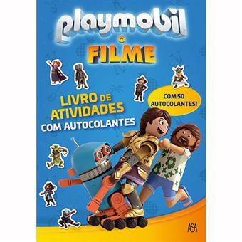 Playmobil, o Filme: Livro de Atividades com Autocolanres
