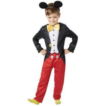 Disfarce Mickey Mouse (Tamanho M 5 a 7 anos)