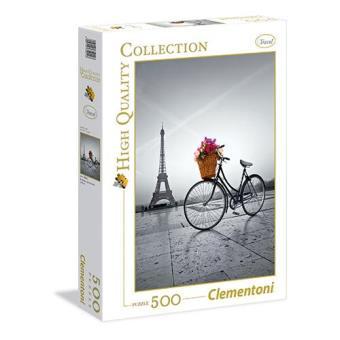 Puzzle Romantic Promenade in Paris (500 peças)