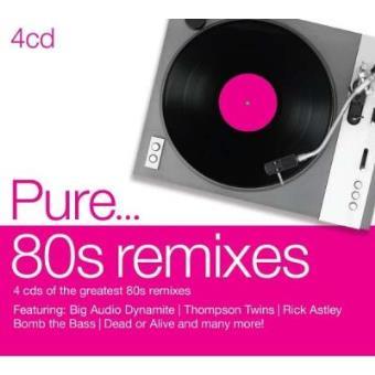 Pure... 80s Remixes (4CD)