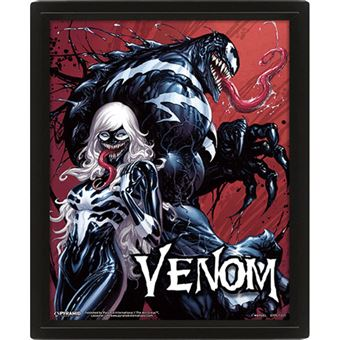 Poster 3D Lenticular Venom Teeth and Claws