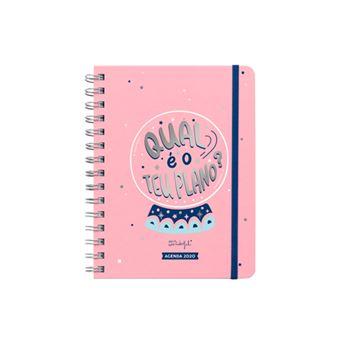 Agenda Semanal 12 Meses 2020 Mr. Wonderful Sketch - Qual é o Teu...
