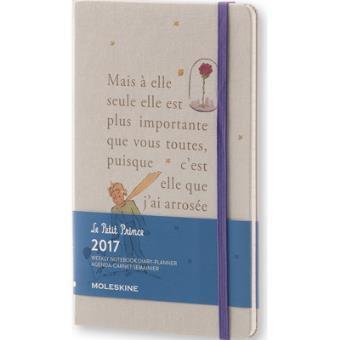 Agenda Semanal 2017 Moleskine Le Petit Prince Grande