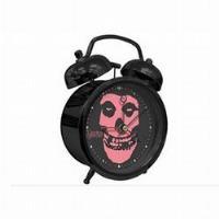 Relógio Despertador Misfits - Pink logo Twin Bell