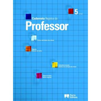 Caderneta de Registos do Professor - 5 Turmas