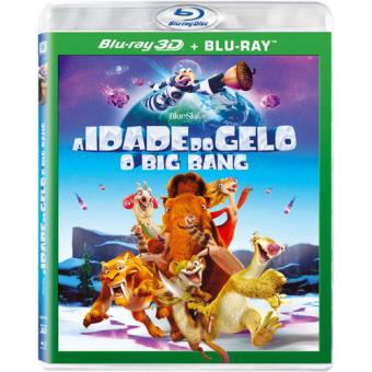 A Idade do Gelo 5: O Big Bang (Blu-ray 3D + 2D)