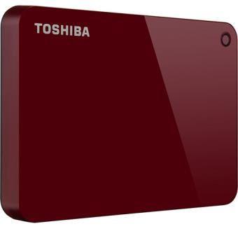 Disco Externo Toshiba Canvio Advance - 3TB - 2,5'' - Vermelho
