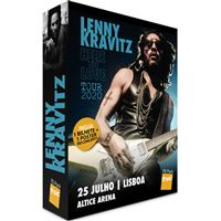 Fã Pack FNAC Lenny Kravitz – Balcão 2 | Preço: 35€ Pack + 2.58€ Custos de Operação