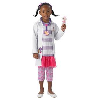 Disfarce Doutora Brinquedos Dlx  (Tamanho T 12 a 24 meses)