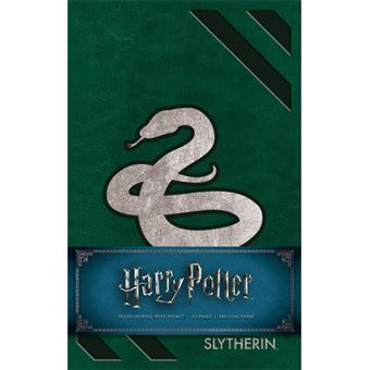 Caderno Pautado Harry Potter - Slytherin Snake A5