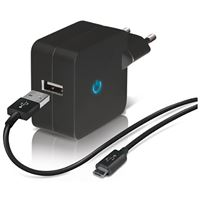 Carregador Temium Micro USB - Preto