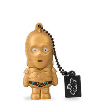 Pen USB SilverHT Star Wars C-3PO 16 GB Dourado