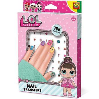 L.O.L. Surprise Nail Transfers - SES Creative