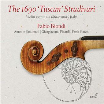 The 1690 Tuscan Stradivari - CD