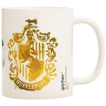 Harry Potter - Caneca Brasão Hufflepuff (Stencil)