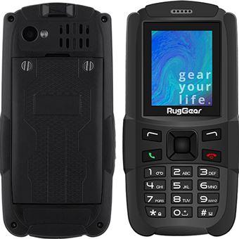 Telemóvel RugGear RG129 - Black