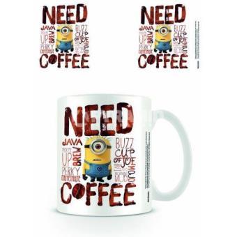 "Despicable Me 2 - Caneca ""Need Coffee"""