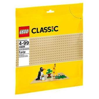 Base de Construção Cor de Areia (LEGO Classic 10699)