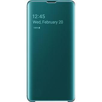 Capa Samsung Clear View para Galaxy S10 - Verde