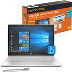 Pack Fnac HP Pavilion X360 14-cd0008np + Office 365 + Impressora + Rato + Oferta 2 Meses Plano de Proteção
