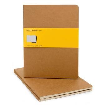 Moleskine: Caderno Quadriculado XL Bege