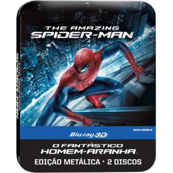 Caixa Metálica O Fantástico Homem-Aranha (Blu-ray 3D + 2D)