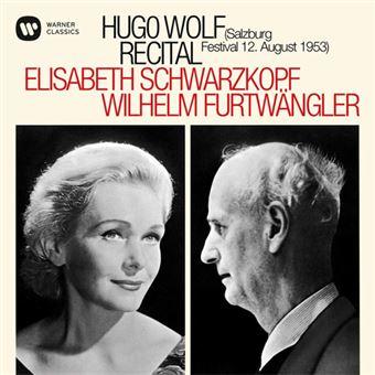 Hugo Wolf Recital - CD
